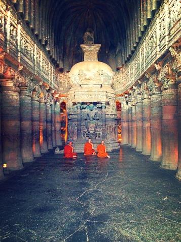 Ajanta monks