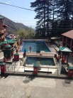 Dharamsala monks swimming pool