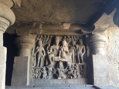 Ellora kilash frieze