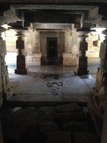 Hampi shiva temple
