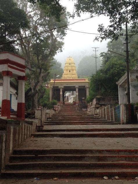 Mysore Chamundi steps