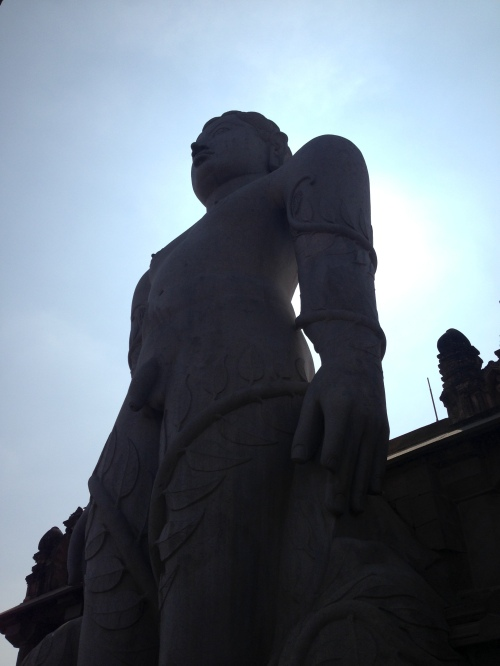 Mysore Jain statue