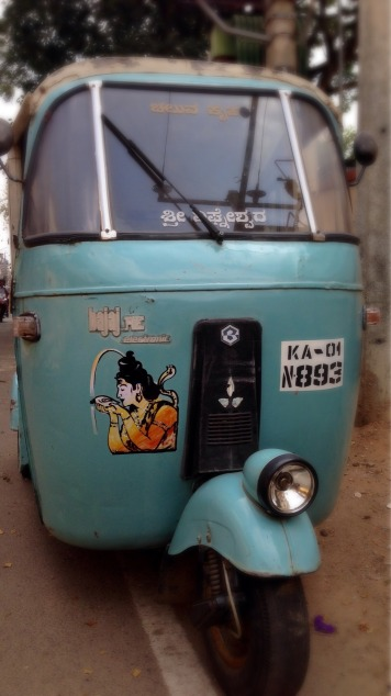 Mysore Shiva tuktuk