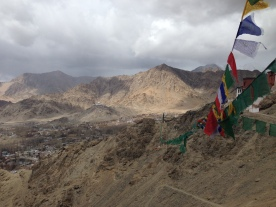SECMOL view from Leh monestary